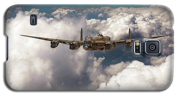 Avro Lancaster Above Clouds Galaxy S5 Case by Gary Eason