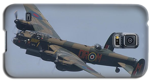 Galaxy S5 Case featuring the photograph Avro Lancaster B1 Pa474  by Tim Beach