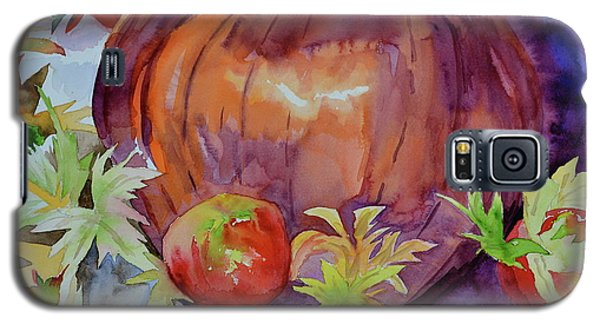 Galaxy S5 Case featuring the painting Awaiting by Beverley Harper Tinsley