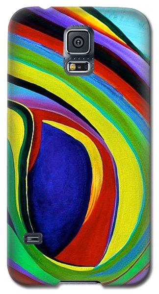 Galaxy S5 Case featuring the painting Awakening by Polly Castor
