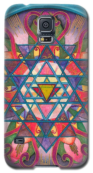 Awareness Mandala Galaxy S5 Case