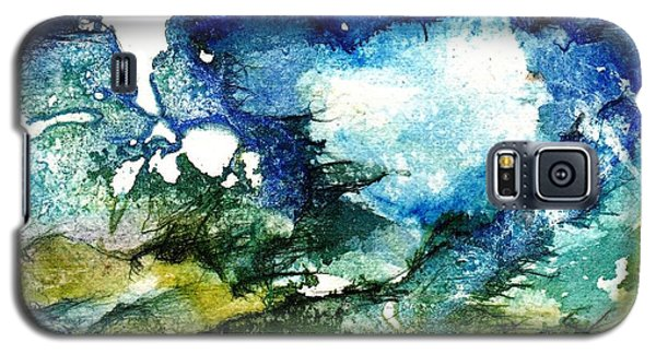 Galaxy S5 Case featuring the painting Away by Anne Duke