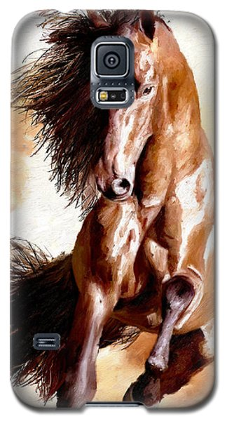 Galaxy S5 Case featuring the painting Away The Lad by James Shepherd