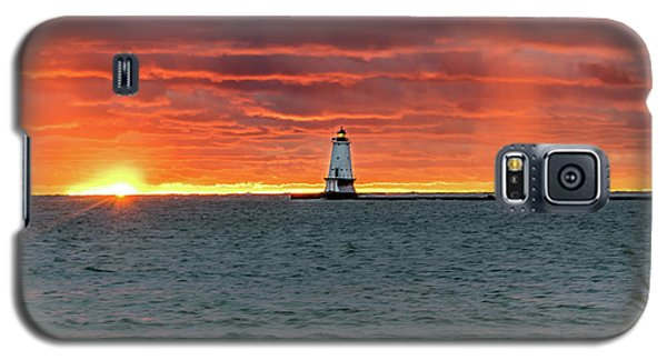 Awesome Sunset With Lighthouse  Galaxy S5 Case
