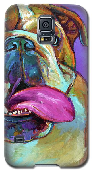 Galaxy S5 Case featuring the painting Axl by Robert Phelps