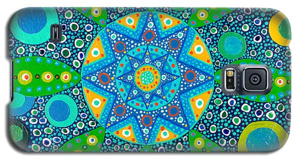 Ayahuasca Vision - Inside The Plant Cell  May 2015 Galaxy S5 Case