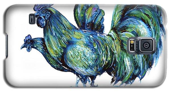 Ayam Cemani Pair Galaxy S5 Case by Zaira Dzhaubaeva