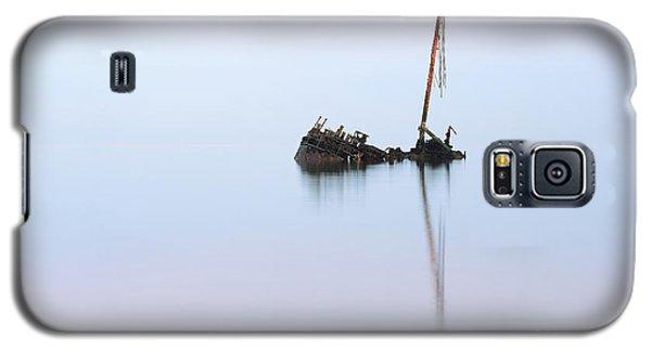 Ayrshire Shipwreck In Sunrise Ref3342 Galaxy S5 Case