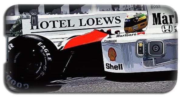 Ayrton Senna - Montecarlo Galaxy S5 Case