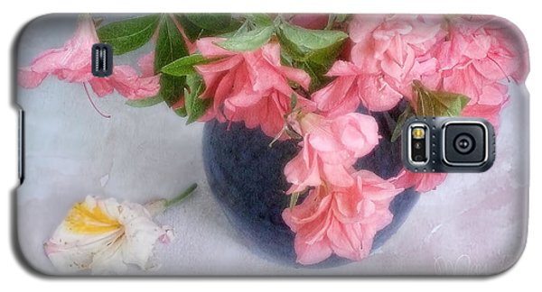 Galaxy S5 Case featuring the photograph Azalea Time by Louise Kumpf