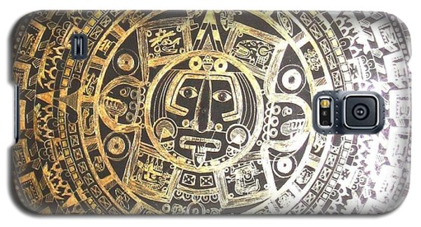 Aztec Calendar Galaxy S5 Case