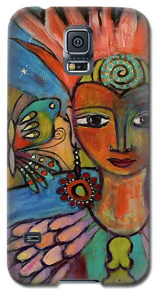 Aztec Princess Galaxy S5 Case
