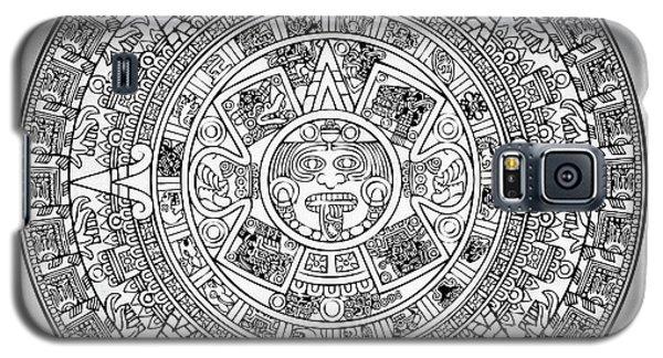 Aztec Sun Galaxy S5 Case by Taylan Apukovska
