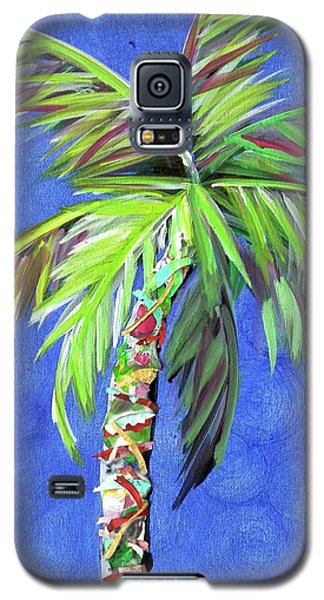 Azul Palm Galaxy S5 Case