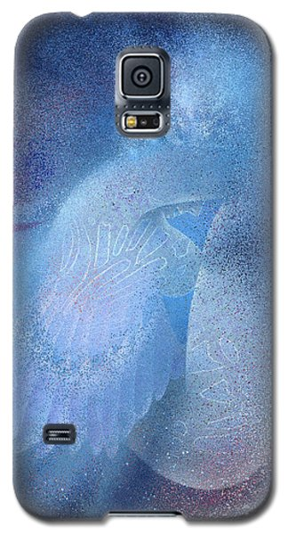 Azure Galaxy S5 Case