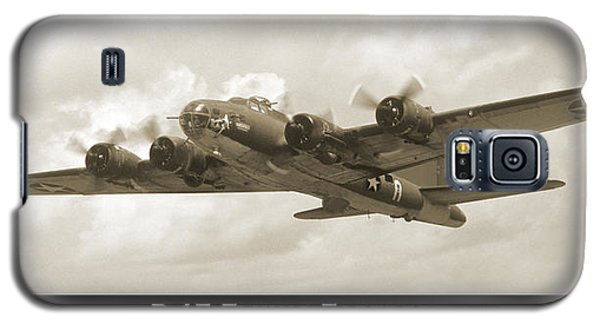 B-17 Flying Fortress Show Print Galaxy S5 Case by Mike McGlothlen