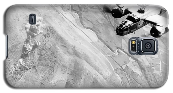 Airplane Galaxy S5 Case - B-25 Bomber Over Germany by War Is Hell Store