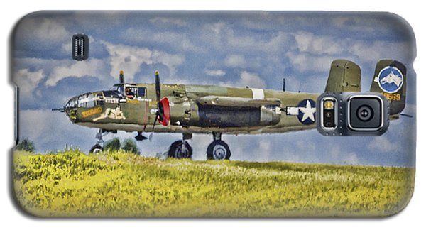 B-25 Landing Akron/canton Ohio Galaxy S5 Case