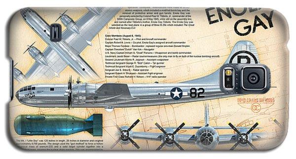 B-29 Enola Gay  Galaxy S5 Case by David Collins