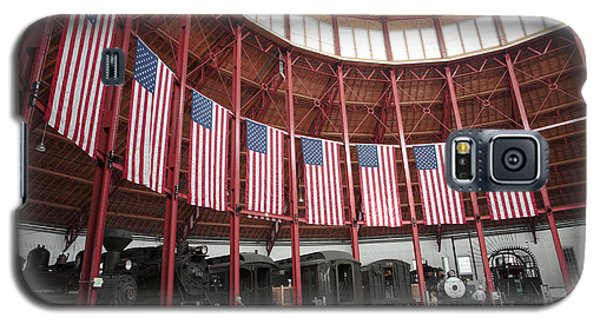 B And O Museum Roundhouse In Baltimore Maryland Galaxy S5 Case