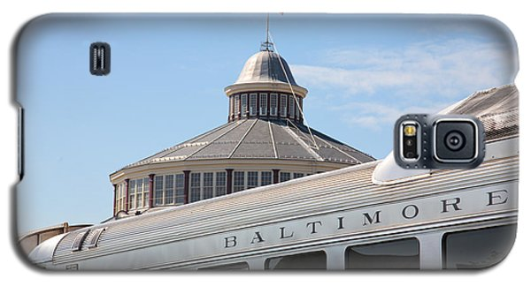B And O Railroad Museum In Baltimore Maryland Galaxy S5 Case