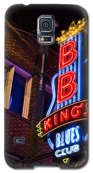 B B Kings On Beale Street Galaxy S5 Case by Stephen Stookey