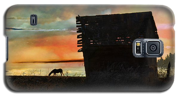 B. C. Barn # 1672 Galaxy S5 Case