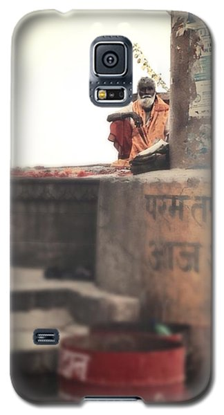 Baba At The Ghats Galaxy S5 Case