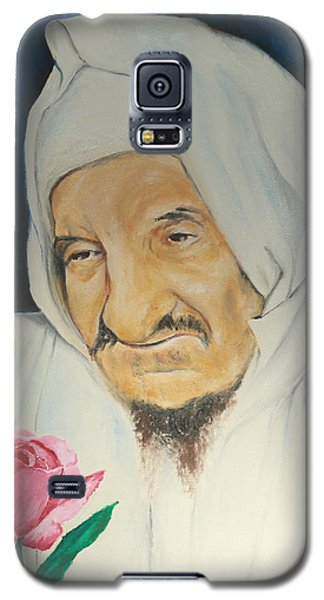 Baba Sali With Rose Galaxy S5 Case