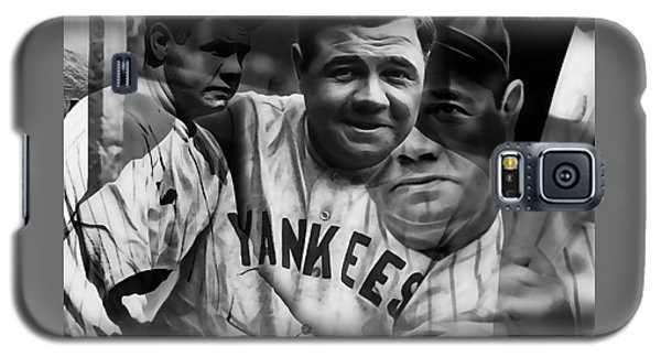 Babe Ruth Collection Galaxy S5 Case by Marvin Blaine