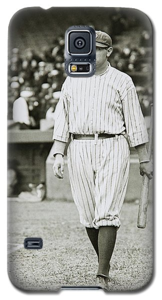 Babe Ruth Going To Bat Galaxy S5 Case