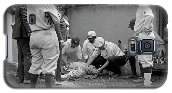 Babe Ruth Knocked Out By A Wild Pitch Galaxy S5 Case