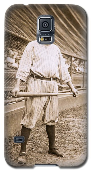 Babe Ruth On Deck Galaxy S5 Case