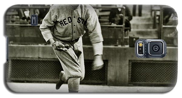 Babe Ruth Pitching Galaxy S5 Case