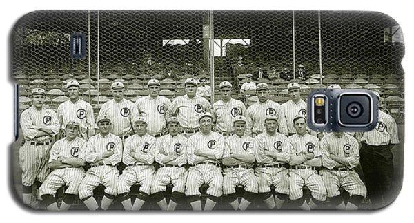 Babe Ruth Galaxy S5 Case - Babe Ruth Providence Grays Team Photo by Jon Neidert