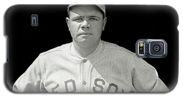Babe Ruth Red Sox Galaxy S5 Case by Jon Neidert