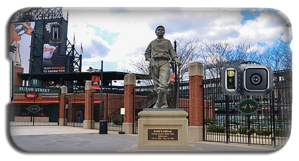Galaxy S5 Case featuring the photograph Babes Dream - Camden Yards Baltimore by Bill Cannon