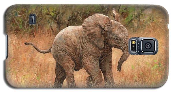 Baby African Elelphant Galaxy S5 Case