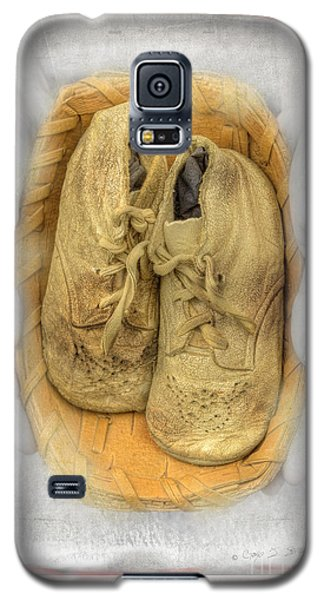 Galaxy S5 Case featuring the photograph Baby Basket Shoes by Craig J Satterlee