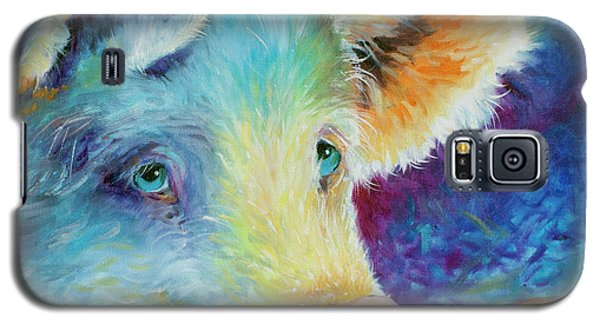 Baby Blues Piggy Galaxy S5 Case