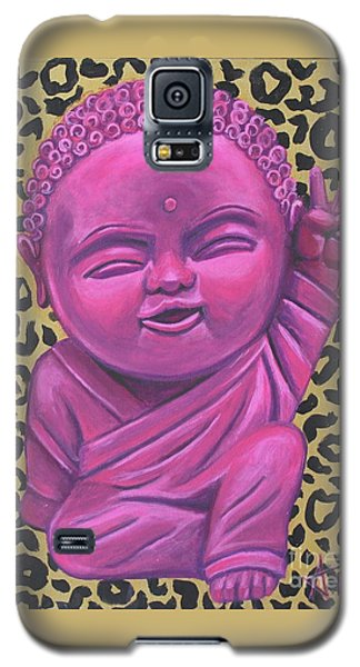 Galaxy S5 Case featuring the painting Baby Buddha 2 by Ashley Price