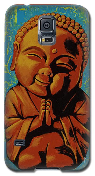 Baby Buddha Galaxy S5 Case by Ashley Price