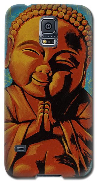 Galaxy S5 Case featuring the painting Baby Buddha by Ashley Price
