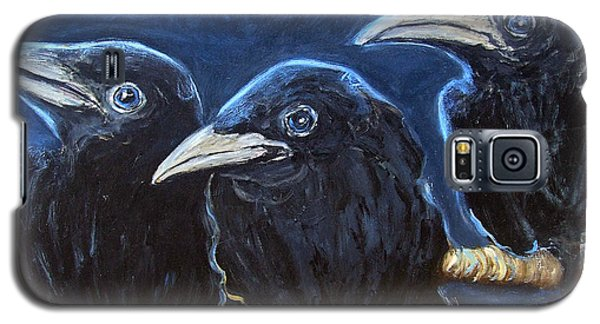 Baby Crows Galaxy S5 Case