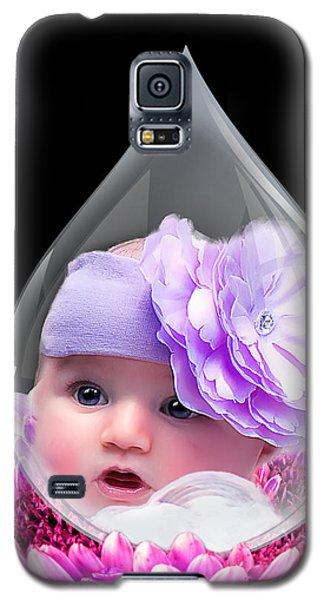 Baby Dewdrop Galaxy S5 Case by Trudy Wilkerson
