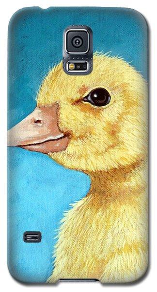 Baby Duck - Spring Duckling Galaxy S5 Case