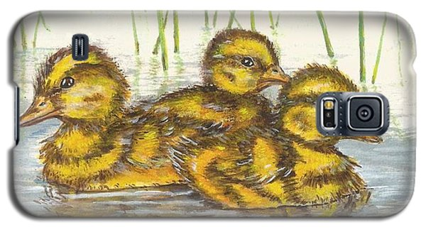 Baby Ducks For Ma Galaxy S5 Case