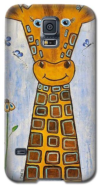 Baby Giraffe Galaxy S5 Case