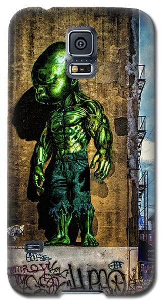 Galaxy S5 Case featuring the photograph Baby Hulk by Chris Lord
