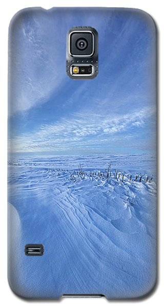 Galaxy S5 Case featuring the photograph Baby It's Cold Outside by Phil Koch